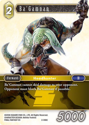 2-088C - Ba'Gamnan - Common Foil