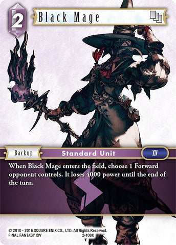 2-108C - Black Mage - Common