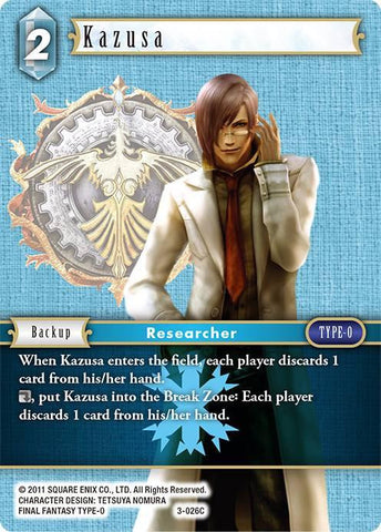 3-026C - Kazusa - Common Foil