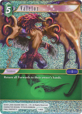 1-062L - Valefor - Legend Foil - Wave 2