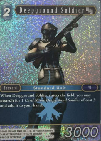 3-042C - Deepground Soldier - Common