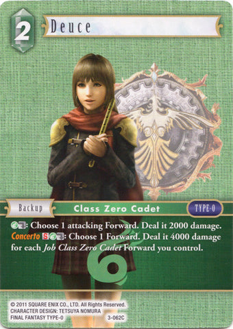 3-062C - Deuce - Common Foil