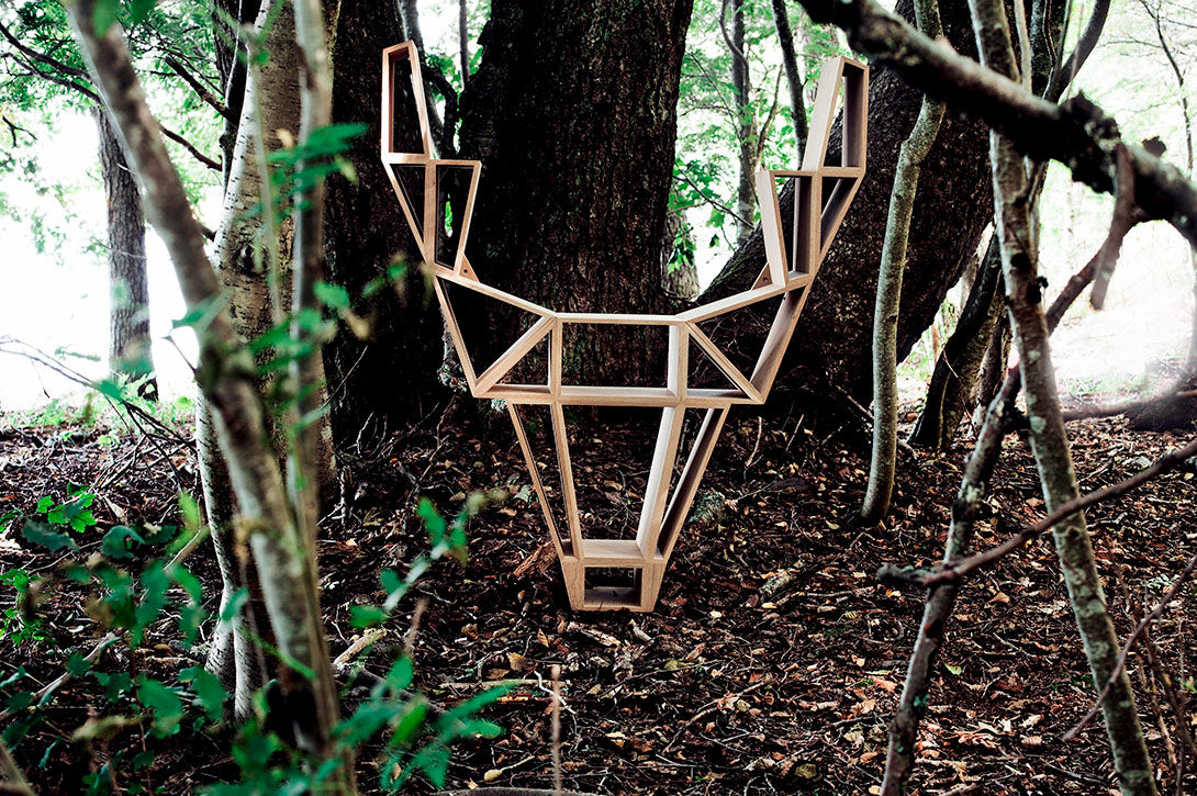 BEdesign Finland Deer Shelf