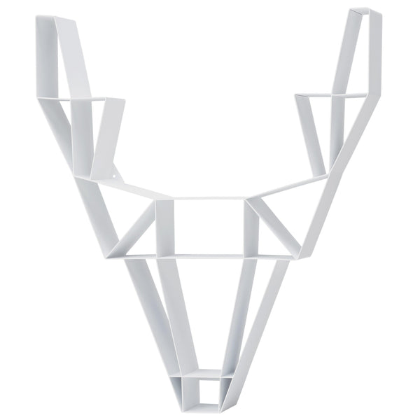 Deer Shelf Metal Small White