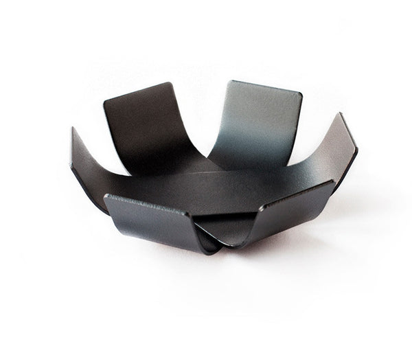 Lily Bowl Mini Charcoal Black