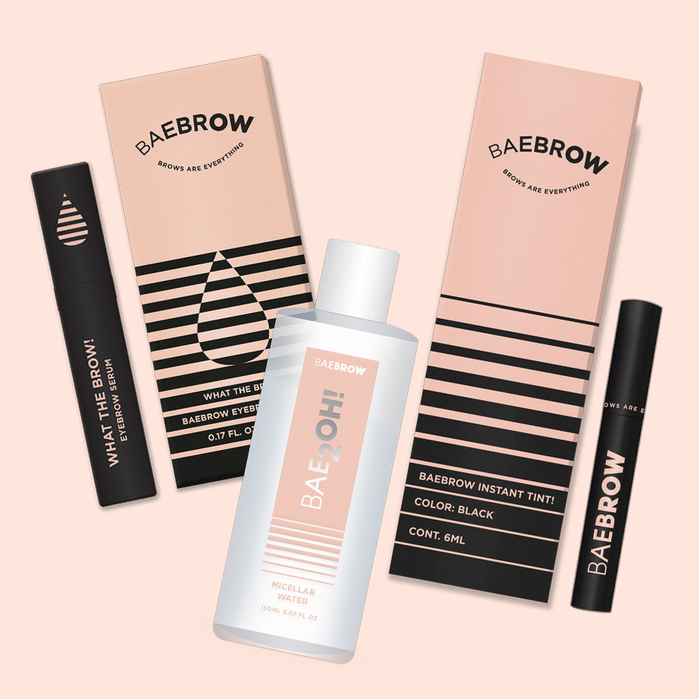 Essential 3-in-1 Bundle - BAEBROW Instant Tint for Eyebrows