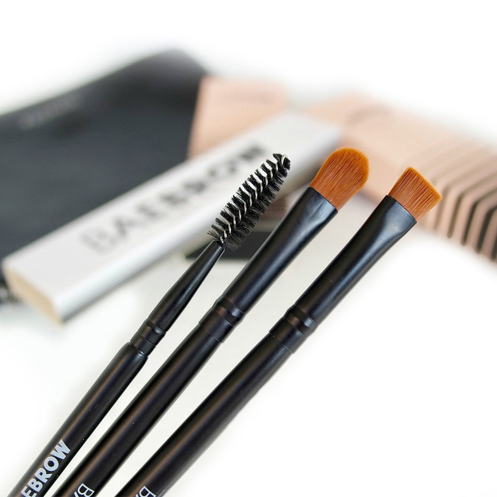 Perfect Brow Trio Brush Set - BAEBROW Instant Tint for Eyebrows