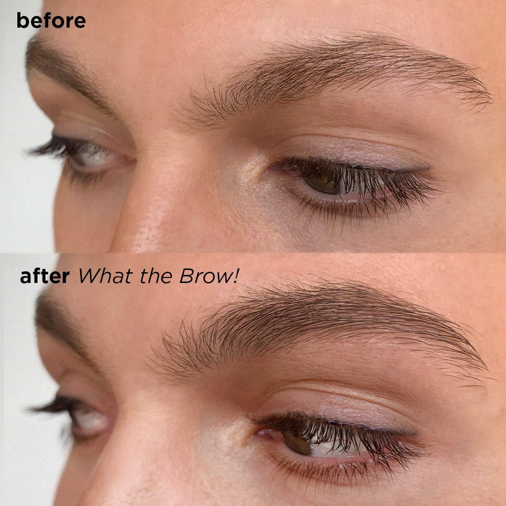 What The Brow! Eyebrow Growth Serum - BAEBROW Instant Tint for Eyebrows
