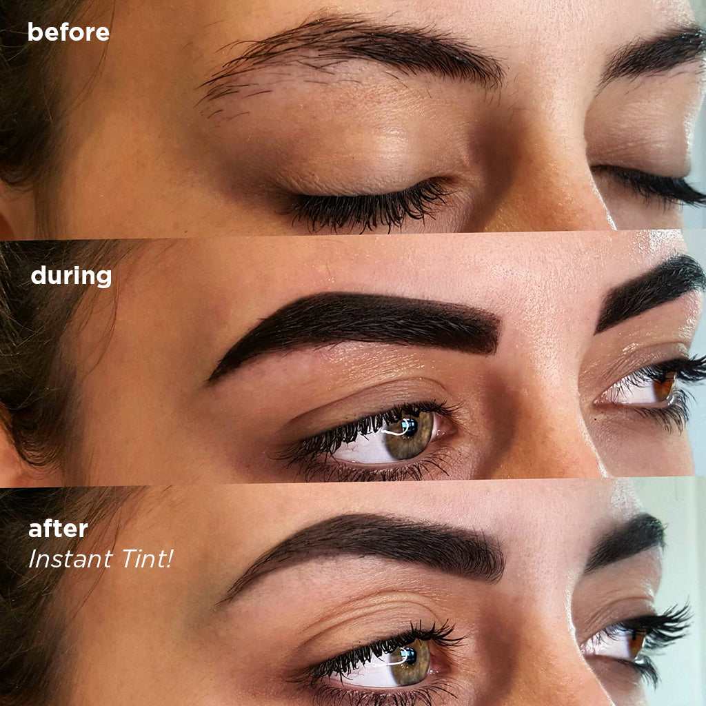 Prep + Tint Kit + Leopard Baeband - BAEBROW Instant Tint for Eyebrows