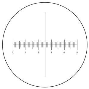 Ruller Reticle in 30mm adapter