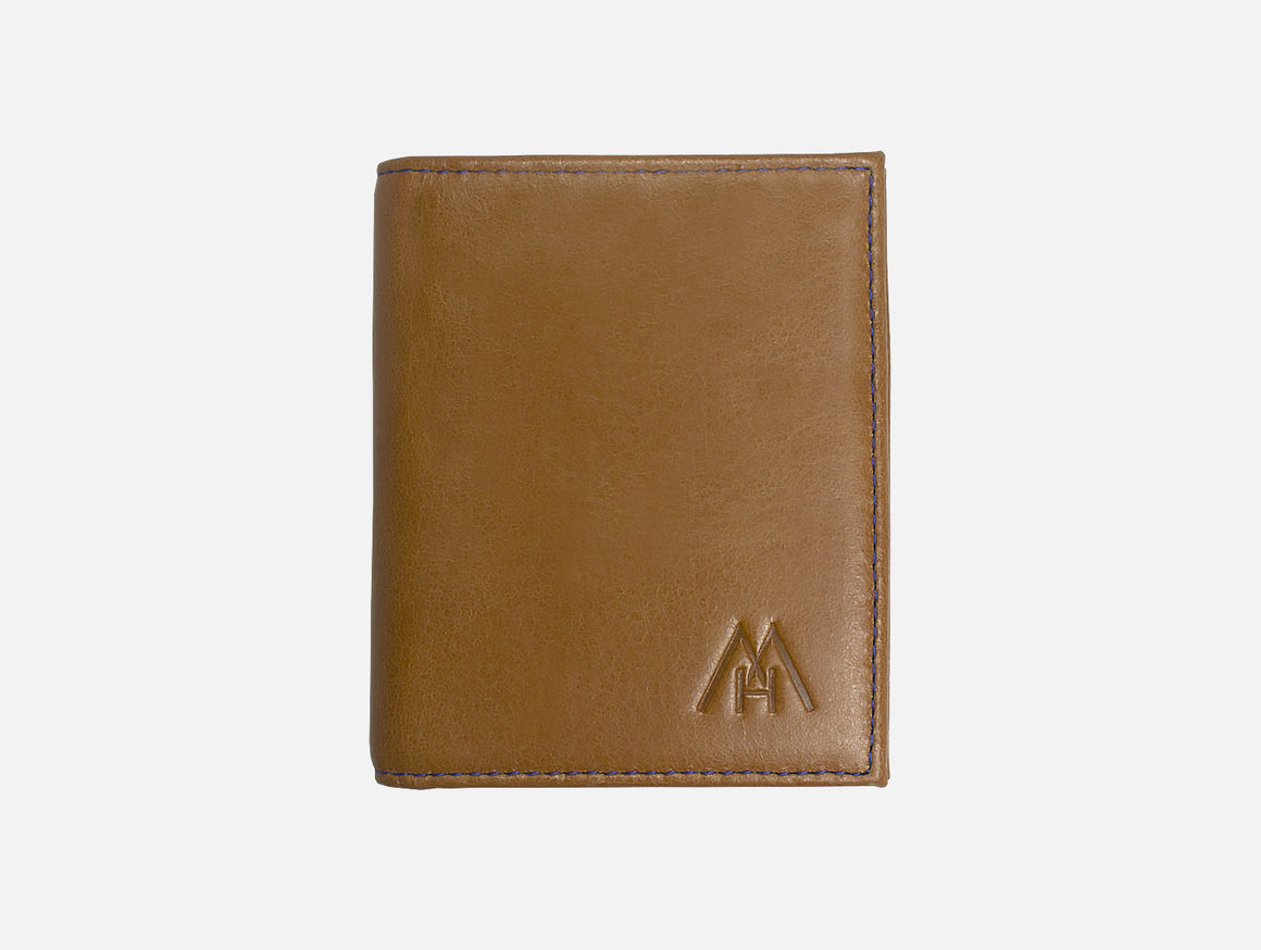 Slim Wallet Camel