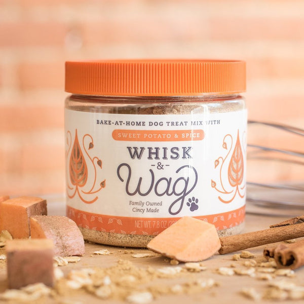 Sweet Potato Pumpkin Spice Dog Treat Baking Mix Healthy Homemade
