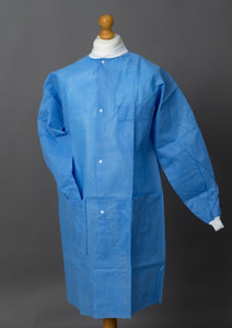 Premier Lab Coats with Knitted Collar and Cuffs