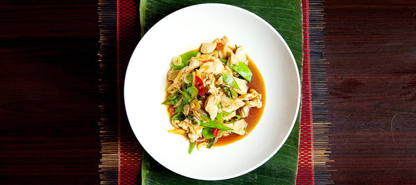 Gai Ka Prao (Chicken holy Basil)