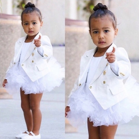 North west white shoes