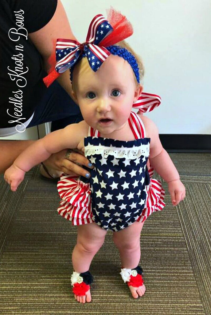 Our Stars n Stripes Romper WON Outfit of Choice!!