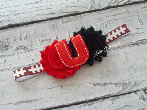 Utah Utes Headband, University of Utah Headband, Baby Girls, Girls Accessories, Football, NCAA