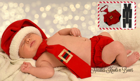 Baby Boys Santa Claus Photo Prop, Christmas Baby, Boys 1st Christmas Cake Smash