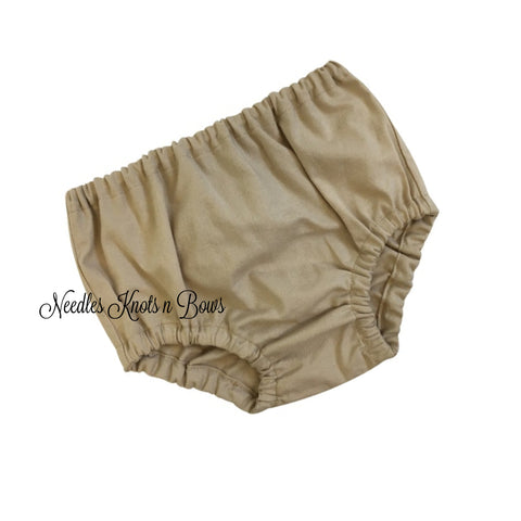 Khaki Diaper Cover, Tan Diaper Cover, Baby Boys / Girls, Baby Bottoms, Baby Shower Gift