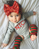 Baby Girls or Boys Christmas Onesie, Boys or Girls Christmas Tshirt