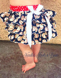 Girls Baseball Team Romper, Game Day Outfit, Baby Girls Baseball Outfit, Toddlers, Baseball Team Outfit