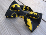 Batman Bow Tie, Superhero Bow Tie, Cosplay, Boys, Men, Suit & Tie Accessories