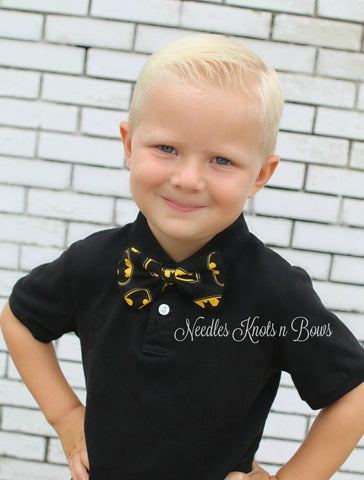 Batman Bow Tie, Superhero Bow Tie, Co Play, Boys, Men, Suit & Tie Accessories