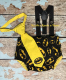 Boys Batman Cake Smash, Boys 1st Birthday Outfit, Batman Birthday, Boys Superhero Birthday