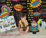Boys Batman Birthday Outfit, Boys First - 2nd Birthday Outfit, Batman Birthday
