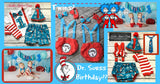 Boys Dr. Suess Birthday Outfit, Boys First Birthday Outfit, Dr. Suess Birthday, 2nd Birthday