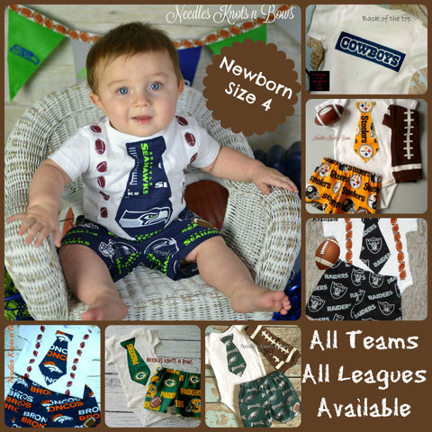 Boys Football Outfit, Baby Boys Football Team Outfit, Boys Game Day Outfit, Baby Shower Gift for Boys