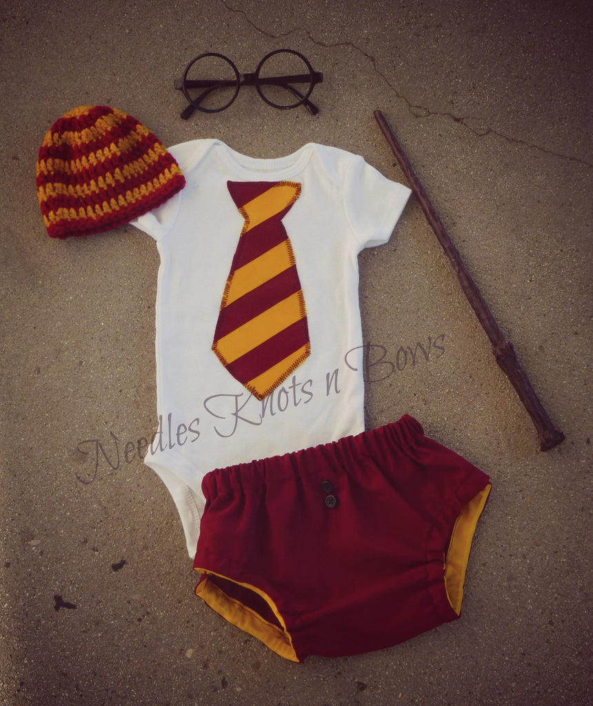 Boys Harry Potter Outfit, Newborn Boys Coming Home Outfit