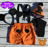 Mickey Mouse Halloween Cake Smash Outfit, Boys 1st Mickey Mouse Birthday Outfit, Halloween Baby