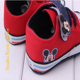 Baby Boys Mickey Mouse Shoes, Mickey Mouse Birthday Shoes
