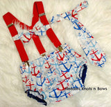 Boys Nautical Cake Smash, Boys Nautical Birthday, Boys 1st Birthday Outfit,  Anchors Cake Smash