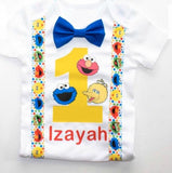 Personalize Your Birthday Shirt / Onesie, Personalization Fee