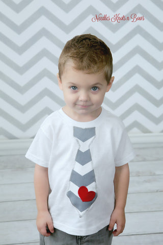 Boys Wear Tagged Valentines Day Needles Knots N Bows