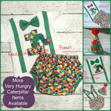 Boys Very Hungry Caterpillar Birthday Outfit, Boys First or Second Birthday Outfit, Very Hungry Caterpillar Birthday