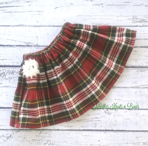 Girls Plaid Skirt, Baby Girls Plaid Skirt, Girls Skirts, Girls Clothes, Baby Girls Clothes 6/9 Months to SZ 10