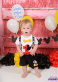 Boys Mickey Mouse Birthday Outfit