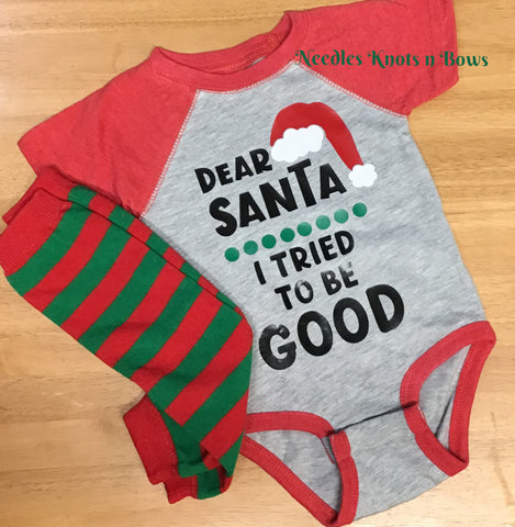 Baby Boys Christmas Onesie, Boys Naughty List Tshirt, Boys Christmas Shirt