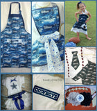 Dallas Cowboys Apron, Mens Cowboys Apron, Womens Aprons, Unisex Team Apron, Cooking Class Apron