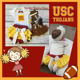 Girls USC Trojans Outfit, Girls Coming Home OUtfit, Football Outfit, Trojans Game Day Outfit