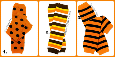 Thanksgiving Stripe Legwarmers, Boys, Girls, Legwarmers, Newborns, Infants, Toddlers, Fall Halloween Legwarmers