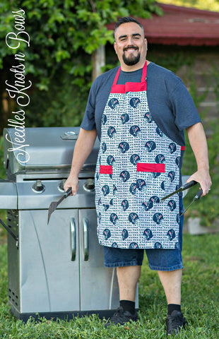 Houston Texans Mens Apron, Womens Apron, Texans Football - Game Day Apron, Aprons