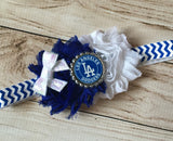 Los Angeles Dodgers Girls Game Day Outfit, Baby Girls LA Dodgers Baseball Outfit, Coming Home Outfit