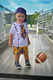 Boys Texas Longhorns Football Outfit, Baby Boys Texas Longhorns Game Day OUtfit, Boys College Football Outfit
