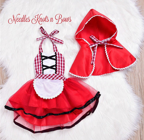 Little Red Riding Hood Costume, Baby Girls Halloween Costume, Costumes