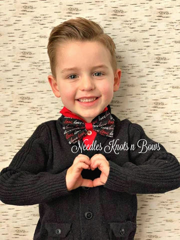 Valentines Day Bow Tie, Valentines Bow Tie, Bowties, Mens Bow Ties, Boys Bow Ties