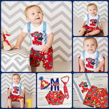 Boys Paw Patrol Birthday Outfit, Boys First Birthday Outfits, Boys 2nd Birthday Outfit, Boys Clothes